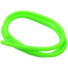 Benzineslang 1-mtr ø5  Fluor-Groen