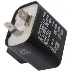 Knipperlichtrelais 2 pins 12,8 volt 23 watt
