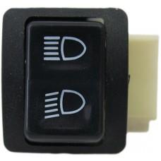Lichtschakelaar Peugeot buxy/ zenith/ speedake klein/ groot licht