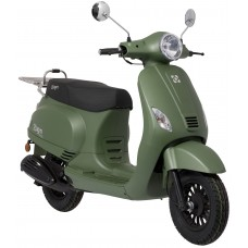 Kappenset - plaatwerkset Look-a-Like Vespa LX, S china model 19 delig mat groen