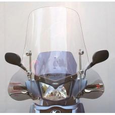 Windscherm Faco Kymco People-S 50/125/150cc inclusief bevestigingsmaterialen chroom