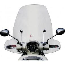 Windscherm Faco Peugeot Django 50/125/150cc inclusief bevestigingsmaterialen chroom