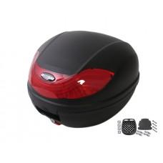 Topkoffer Edge Roma 32 liter zwart