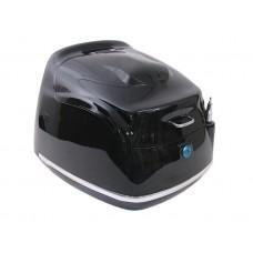 Topkoffer China scooter Grand Retro zwart glans