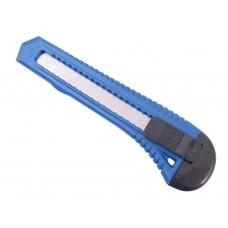 Afbreekmes Groot Model 18mm Blauw  Plastic