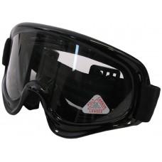 Motocrossbril Edge Zwart