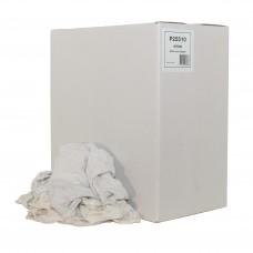 Euro witte poetslappen / poetsdoeken 1e kwaliteit - doos á 10kg