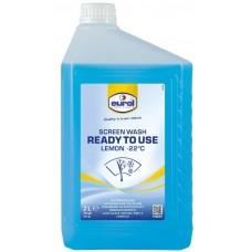 Ruitensproeiervloeistof Eurol Screen Wash kant & klaar tot -22 graden - 5 liter