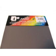 Schuurpapier HPX korrel 600 (4 stuks)