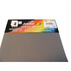 Schuurpapier HPX korrel 1000 (4 stuks)