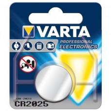 Batterij Varta Lithium CR2025 - 3V