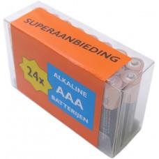 Batterij Duracel R03/AAA Alkaline (box a 24 stuks)