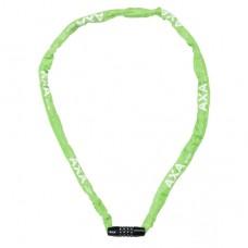 Kettingslot AXA Rigid RCC code 120/3,5 - groen (winkelverpakking)