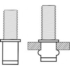 Blindklinkbout Masterfix M6*15 staal (50 stuks)