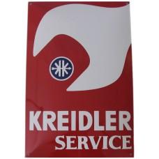 Emaille bord Kreidler Service 40*60cm