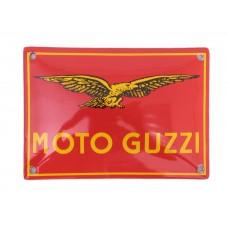 Emaille bord 14*10cm Moto Guzzi