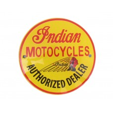 Emaille bord ø10cm Indian Motorcycles