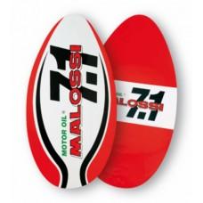 Accessoire skimboard 7.1 rood/wit malossi 4213750