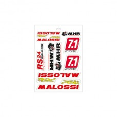 Stickerset Malossi 339780.16 10-delig