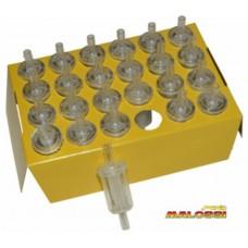 Benzinefilter 6mm malossi 031380v 24pcs
