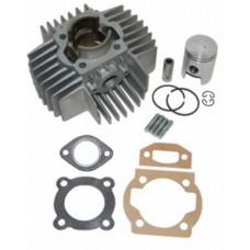 Cilinder Puch Maxi nieuw type Airsal aluminium 50cc